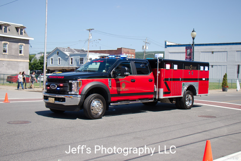 Frankford Township Fire Department, Augusta, NJ, Rescue #2