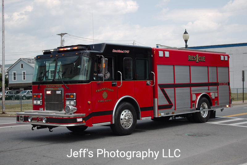 Frankford Township Fire Department, Augusta, NJ, Rescue #1