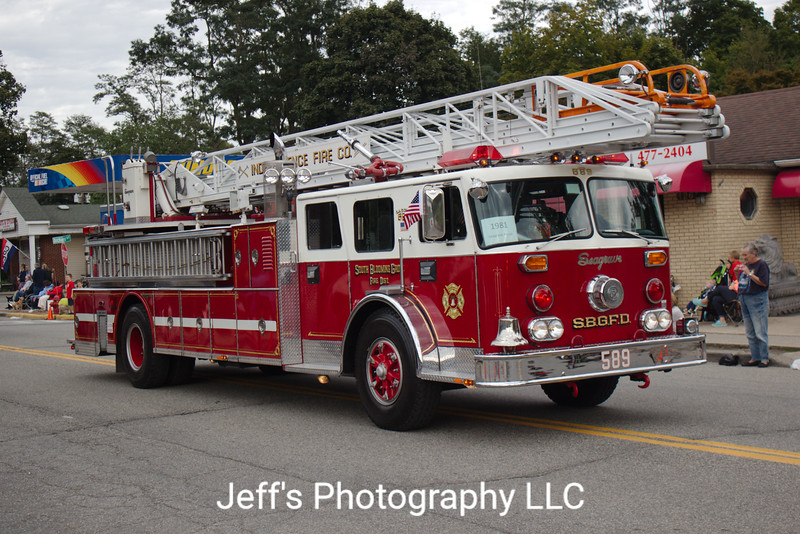 Independence Fire Company, Monroe, NY, Ladder #589