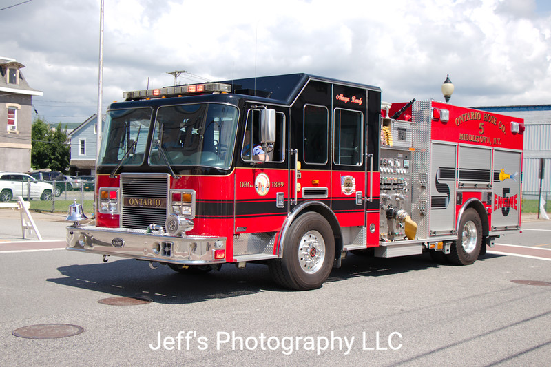 Middletown, NY Fire Department (Ontario Hose Company #5) Pumper #5
