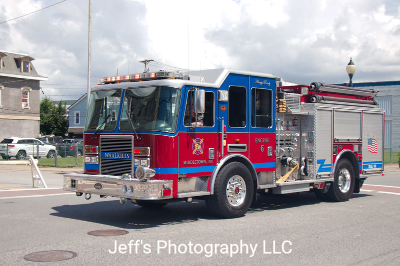 Middletown, NY Fire Department (Waalkill Engine Company #6) Pumper #6