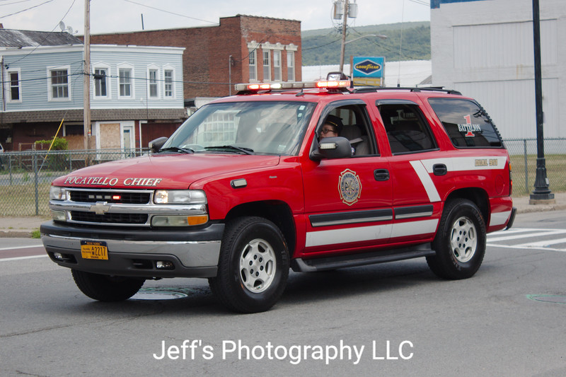 Pocatello Fire Company, Middletown, NY, Chief's Car #1 - RETIRED