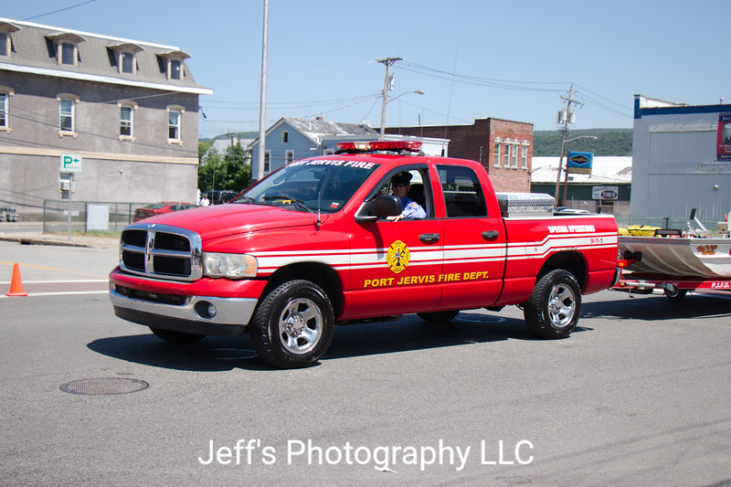Port Jervis, NY Fire Department Special Operations Truck