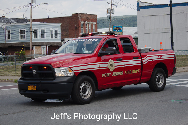 Port Jervis, NY Fire Department Fire Police Truck