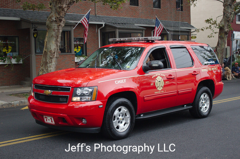 Monsey, NY Fire Department (Brewer Fire Engine Company No. 1) Chief's Car #7-1