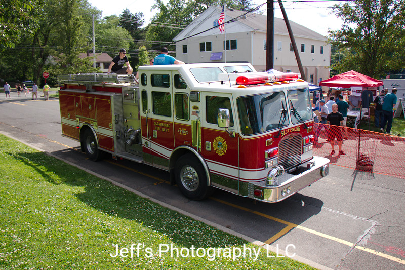 Sloatsburg, NY Fire Department Pumper #15-1750