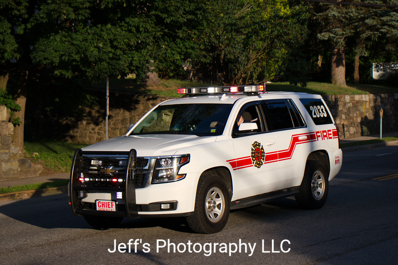 Bedford Hills, NY Fire Department Chief's Car #2033