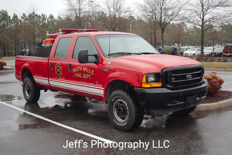 South Mills, NC Fire Department Brush Truck #BT-14