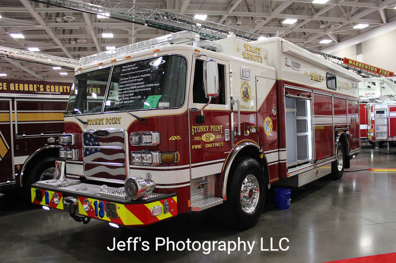 Stoney Point Fire Department, Fayetteville, NC, Rescue Engine #R13