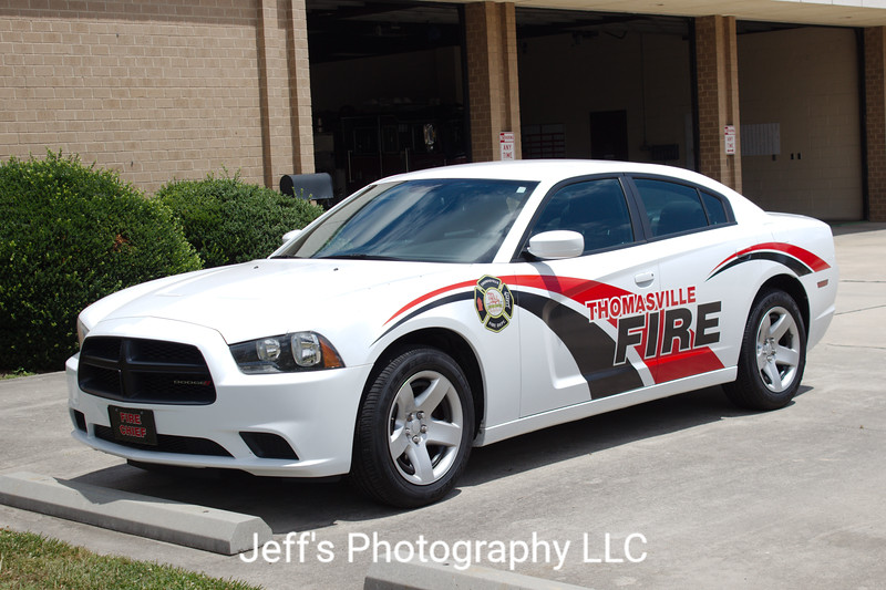 Thomasville, NC Fire Department Chief's Car