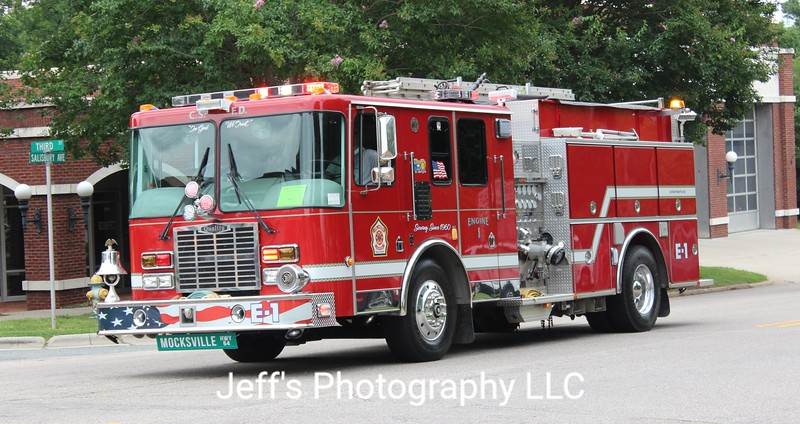 Cool Springs Volunteer Fire Department, Statesville, NC Pumper #E-1