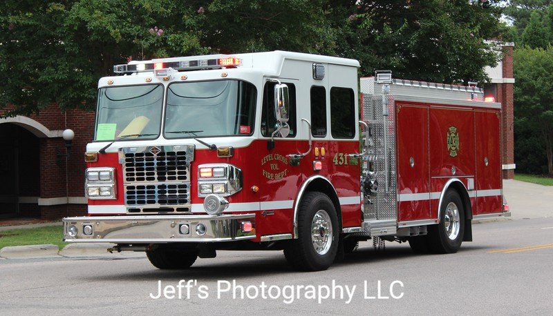 Level Cross Volunteer Fire Department, Randleman, NC Pumper #431
