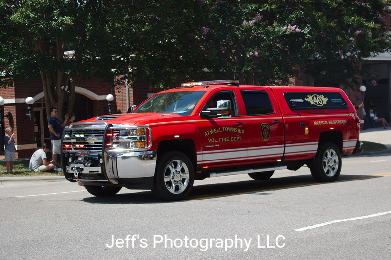 Atwell Township Volunteer Fire Department, China Grove, NC, EMS Vehicle #40