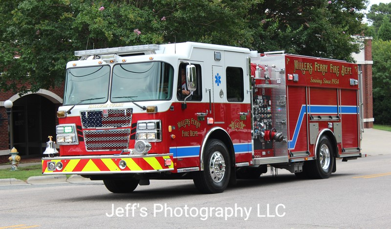Millers Ferry Fire Department, Salisbury, NC Pumper #643