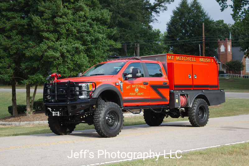 Mt. Mitchell Fire Department, Kannapolis, NC, Brush Truck #1