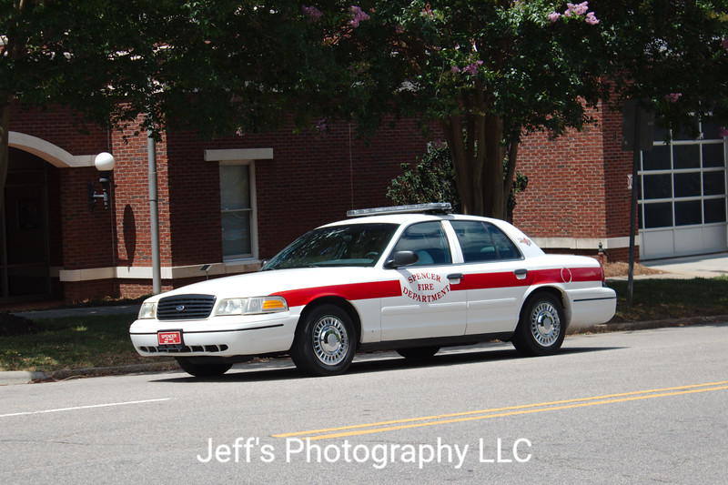 Spencer, NC Fire Department Chief's Car