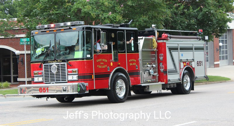 East Side Volunteer Fire Department, Albemarle, NC Pumper #651