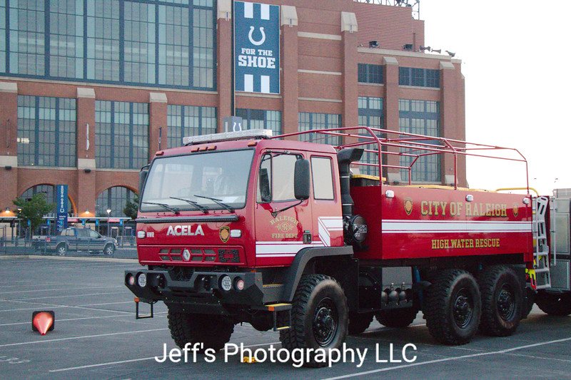 Raleigh, NC Fire Department High Water Rescue Truck