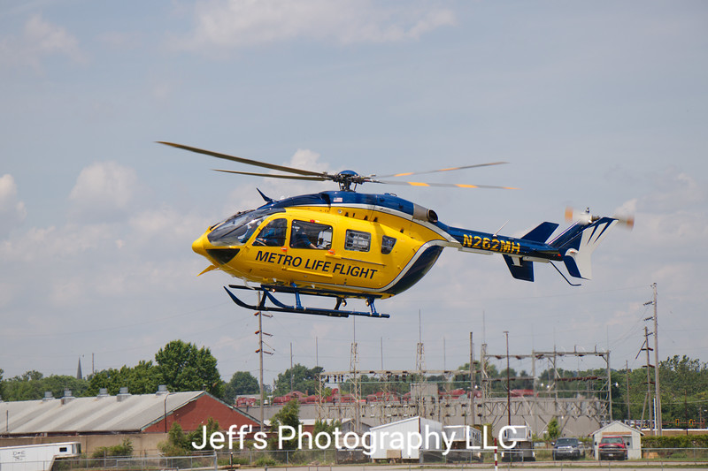 Metro Life Flight, Cleveland, OH, Air Ambulance #N262MH
