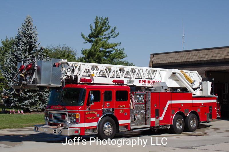 Springdale, OH Fire Department Tower #90