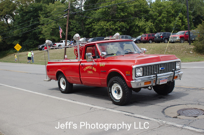 Townsend Township Fire Department, Collins, OH, Brush Truck #643