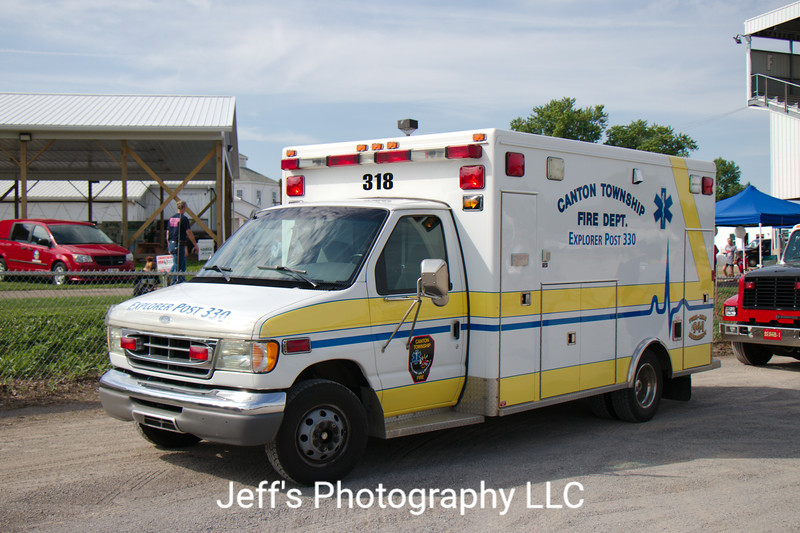 Canton Township Fire Department, Canton, OH, Ambulance #318