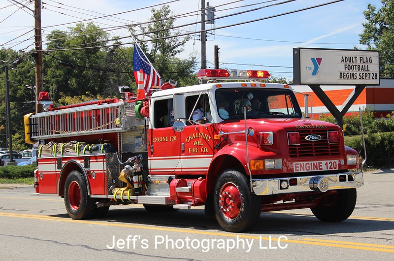 Chalfant, PA Volunteer Fire Company Pumper #120