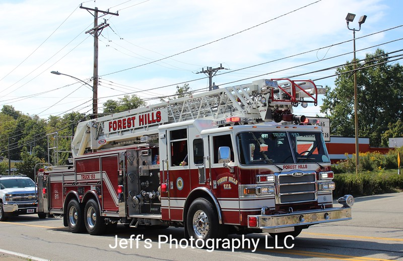 Forest Hills, PA Volunteer Fire Department Ladder #153