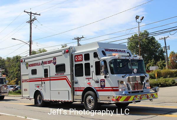 Monroeville, PA Fire Department Incident Command Truck #C32