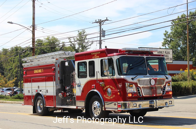 Pleasant Valley Volunteer Fire Company, Pittsburgh, PA Pumper #1
