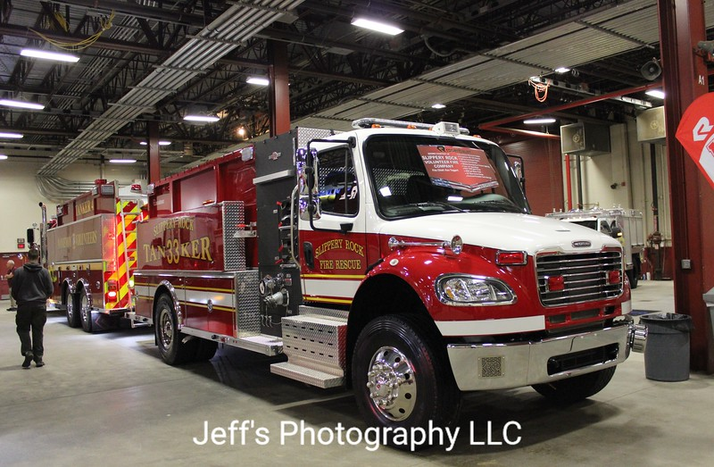 Slippery Rock, PA Volunteer Fire Company Tanker #33