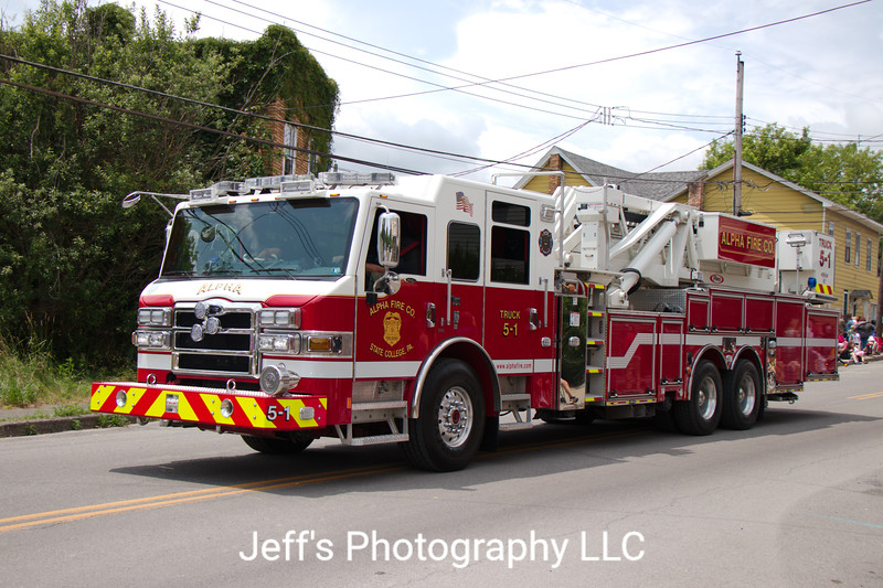 Alpha Fire Company, State College, PA, Tower-Ladder #5-1
