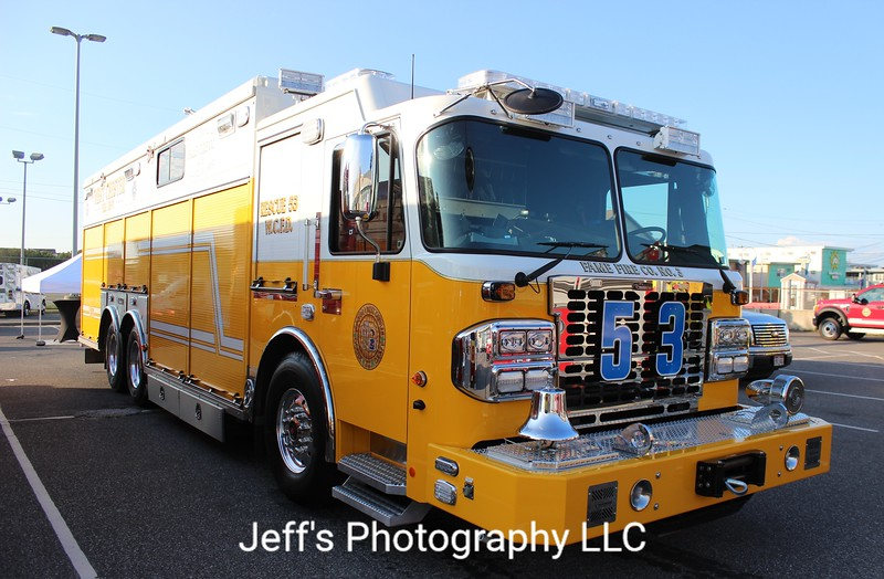 Fame Fire Co. No. 3, West Chester, PA Rescue Engine #53