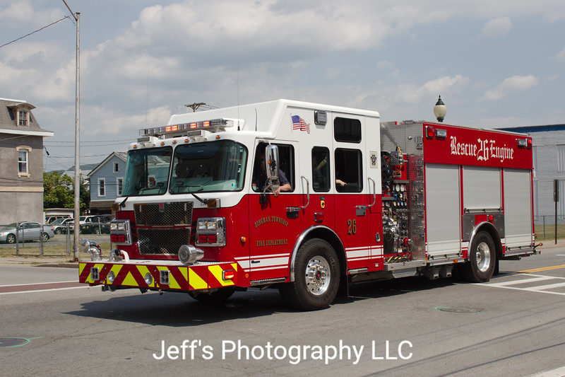 Dingman Township Volunteer Fire Department, Milford, PA, Rescue-Pumper #26