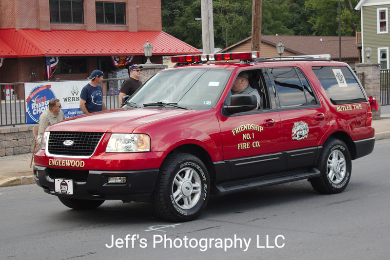 Friendship Fire Company No. 1 - Englewood, Frackville, PA, Chief's Car #369