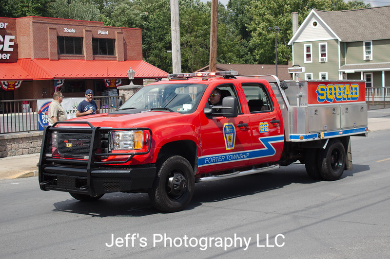 Muir, PA Volunteer Fire Company Rescue #22