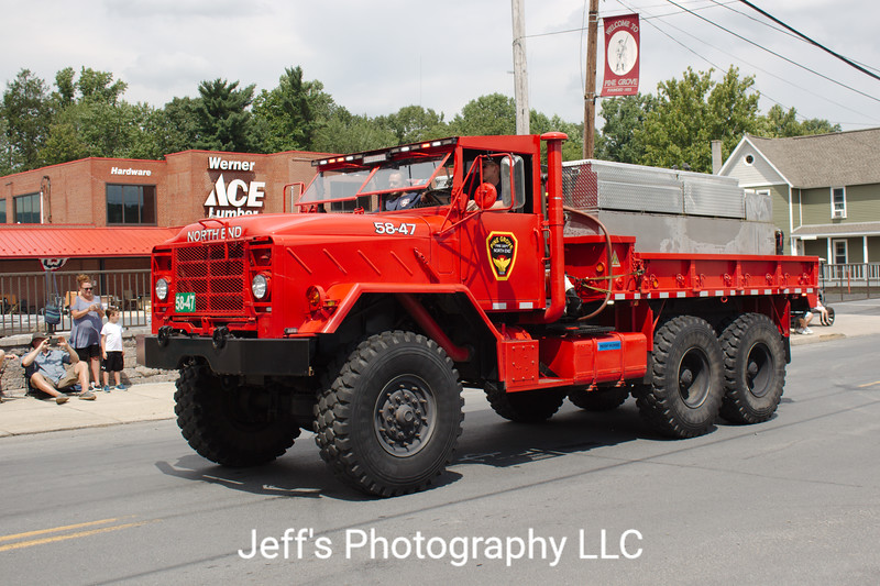 North End Fire Company, Pine Grove, PA, Brush Truck #58-47