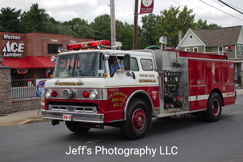 Orwigsburg, PA Fire Department Pumper #56-11