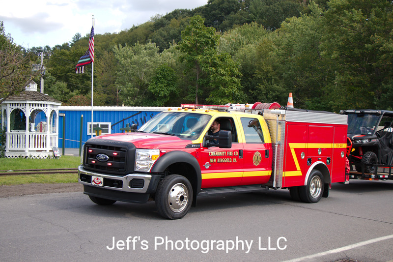 Community Fire Company, New Ringgold, PA, Brush Truck #55-40