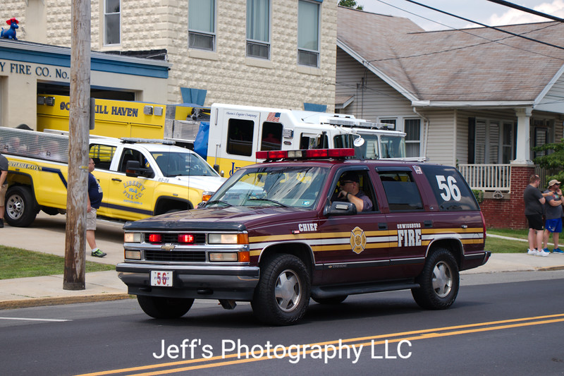 Orwigsburg, PA Fire Department Chief's Car #56