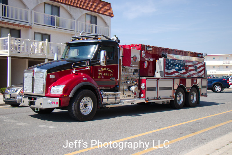 Harford, PA Volunteer Fire Company Tanker #PT-8