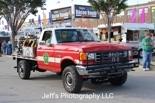 Eastern York County Forest Fire Crew, Wrightsville, PA, Brush Truck #71-2