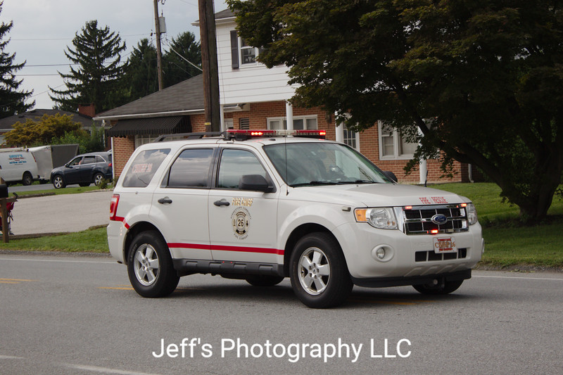 Strinestown Community Fire Company, Manchester, PA, Chief's Car #26
