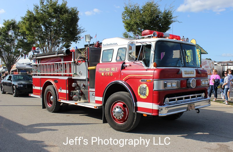 West York, PA Fire Department Reliance Station 1 Pumper