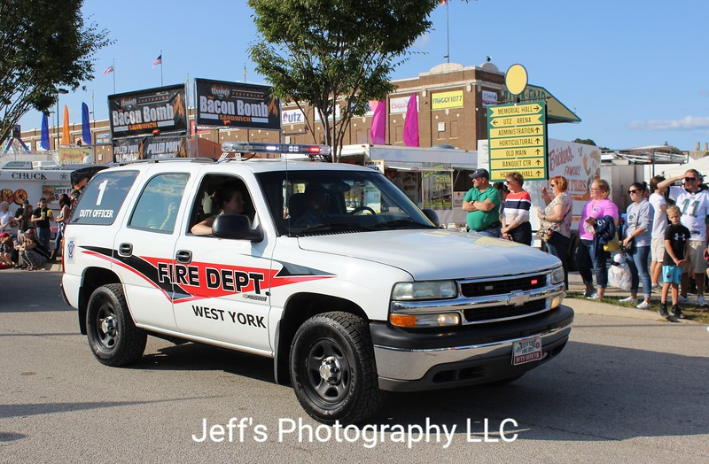 West York, PA Fire Department Duty Officer Vehicle #1
