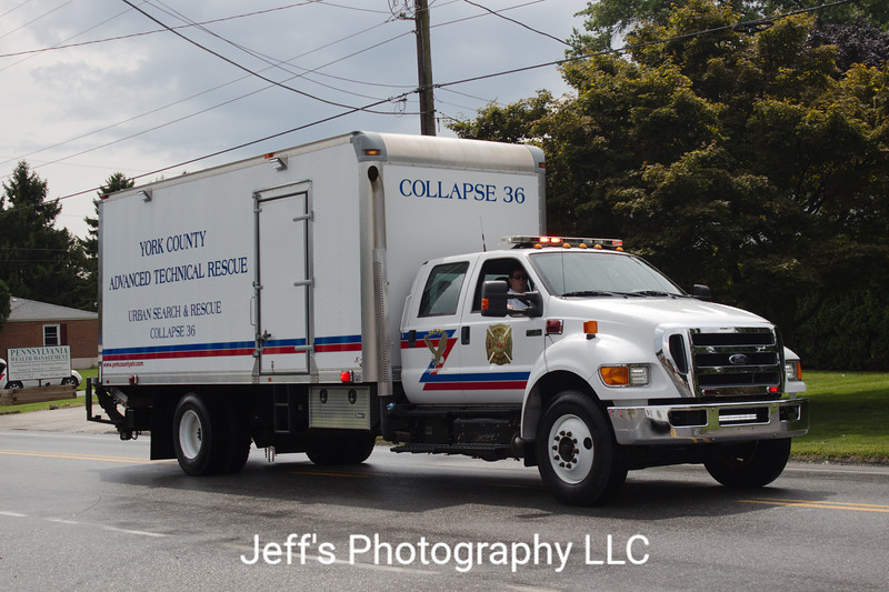 York County Advanced Technical Rescue, Red Lion, PA, Collapse Unit #36