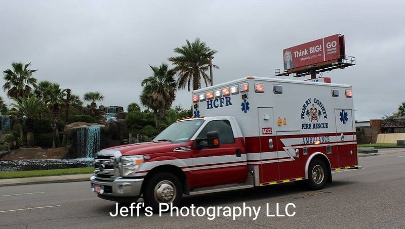 Horry County Fire Rescue, North Myrtle Beach, SC Ambulance #M32