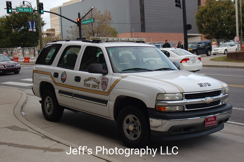 Nashville, TN Fire Department Special Operations Vehicle