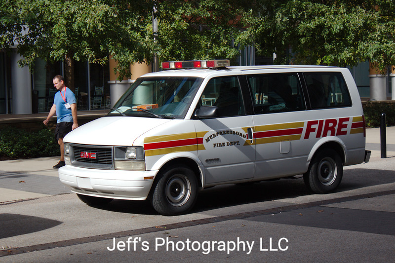 Murfreesboro Fire & Rescue Department Van