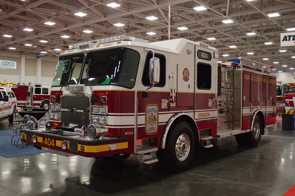 Fairfax County Fire and Rescue Department, Herndon, VA, Pumper #404